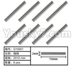 HG P801 P802 Parts-112 G10501 Hexagon TB screw(8pcs)-2X10mm