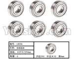 HG P801 P802 Parts-118 LS026 Ball Bearing(6pcs)-Φ5XΦ10X4mm