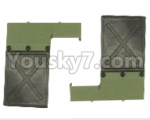 HG P801 P802 Parts-152 8ASS-125 801 Mud plate