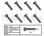 HG P801 P802 Parts-165-04 W05013 Inner-Hexagon TB screws(8pcs)-Φ3X6mm