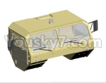 HG P801 P802 Parts-21 8ASS-P0006 Front Truck head assembly(Green or Yellow)