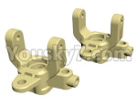 HG P801 P802 Parts-50 JK013-48-49 Steering mount(2pcs-Left And Right)-(Green Or Yellow)