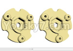 HG P801 P802 Parts-58 JK009-29 Wheel Hub positioning seat-2pcs-(Green Or Yellow)