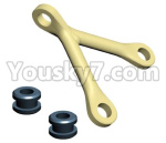 HG P801 P802 Parts-75 JK015-56 Front and rear bridge fixings(Green Or Yellow)