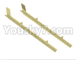 HG P801 P802 Parts-83 JK004-15 JK004-16 Front girders-2pcs-(Green Or Yellow)