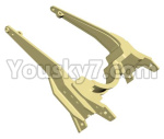 HG P801 P802 Parts-89 JK007-24 Motor bracket,Motor support frame(2pcs)-(Green Or Yellow)