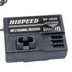 HSP 94188 Car spare parts-02071 03020 Receiver 2.4G,AM two-way receiver(Be suit for All HSP Brand car)