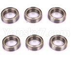 HSP 94188 Car spare parts-02079-02 Upgrade Bearing(15x10x4mm)-6pcs-Can instead of the 02079