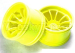 HSP 94188 Car spare parts-08008 Wheel Rim,Wheel hub(Not include the tire lether)-2pcs-Yellow