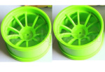 HSP 94188 Car spare parts-08008-02 Wheel Rim,Wheel hub(Not include the tire lether)-2pcs-Green