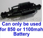 HaiBoXing 12811B Parts-01-02 12600BT Chassis,Bottom frame (Can only be used for 1100mah or 850mah battery)