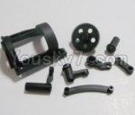 HaiBoXing 12811B Parts-04-01 12603 Front And Rear Suspension Arms,Front And Rear Swing Arm (1)
