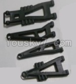 HaiBoXing 12811B Parts-04-01 12603 Front And Rear Suspension Arms,Front And Rear Swing Arm(Total 4PCS)