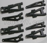 HaiBoXing 12811B Parts-04-02 12603 Front And Rear Suspension Arms,Front And Rear Swing Arm(Total 8PCS)