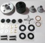 HaiBoXing 12811B Parts-14-01 12611R Differentials Gear set