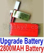 HaiBoXing 12811B Parts-22-04 Upgrade 2800mah Battery(1pcs)