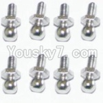 HaiBoXing 12811B Parts-27 H013 Ball Studs(8pcs)