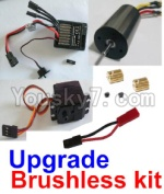 HaiBoXing 12811B Parts-36-01 Upgrade Brushless kit(Include ESC,Brushless motor,Sero,motor gear,screws,and wire)