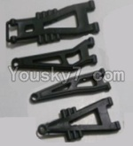 HaiBoXing 12813 Parts-04-01 12603 Front And Rear Suspension Arms,Front And Rear Swing Arm(Total 4PCS)
