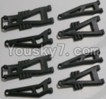 HaiBoXing 12813 Parts-04-02 12603 Front And Rear Suspension Arms,Front And Rear Swing Arm(Total 8PCS)