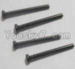 HaiBoXing 12813 Parts-16 12613 Front Upper swing arm,Front Upper Suspension Hinge Pins(4pcs)-3X28mm