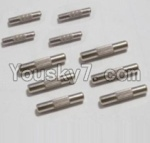 HaiBoXing 12813 Parts-18 12615 Drive shaft pin A(2pcs)-2X10mm & Drive shaft pin B(6pcs)-2.2X11.5mm