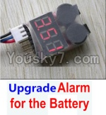 HaiBoXing 12813 Parts-22-08 Upgrade Alarm for the Battery,Can test whether your battery has enouth power