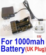 HaiBoXing 12813 Parts-22-13 25209 Charge Box and Charger(United Kingdom Standard Socket)
