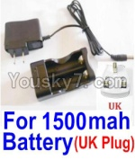 HaiBoXing 12813 Parts-22-17 12644 Charge Box and Charger(United Kingdom Standard Socket)