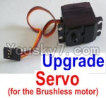 HaiBoXing 12813 Parts-36-03 12224 Upgrade 3-wire Steering Servo(Can only be used for the Upgrade brushless kit)
