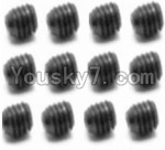 HaiBoXing 12813 Parts-44 S109 Set Screw-3X4mm(12PCS)
