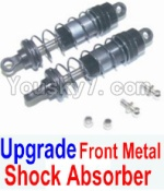 HaiBoXing 12881P Parts-07-05 12203 Upgrade Front Metal hydraulic shock absorber(2pcs)