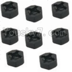 HaiBoXing 12881P Parts-11 12010 Hexagon Wheel Seat(8pcs)