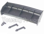 HBX 12881P Parts-14 12013 Tail wing & Column for the Car canopy