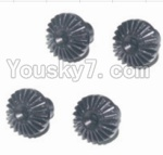 HaiBoXing 12881P Parts-20 12019P Differential hardware gear(4pcs)