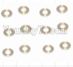 HaiBoXing 12881P Parts-29-01 12029 Copper Washers(16pcs)-2.5X5.5X0.5MM