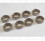 HBX 12881P Parts-29-02 79513 ball bearing(8pcs)-7.95x13x3.5mm