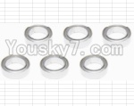 HaiBoXing 12881P Parts-29-05 H011 ball bearing(6pcs)-5x8x2.5mm