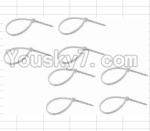 HBX 12881P Parts-32 P011 Zip Ties - Small(8pcs)