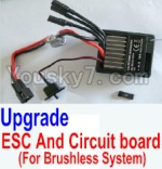 HBX 12881P Parts-34-02 12216 Upgrade Brushless ESC and Circuit board