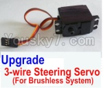 HaiBoXing 12881P Parts-34-03 12224 Upgrade Brushless 3-wire Steering Servo