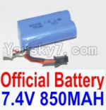 HaiBoXing 12881P Parts-39-01 12032N Official 7.4V 850mah Battery(1pcs)