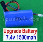 HaiBoXing 12881P Parts-39-02 12225 Upgrade 7.4V 1500MAH Battery(1pcs)