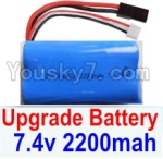 HaiBoXing 12881P Parts-39-03 Upgrade 7.4V 2200mah Battery(1pcs)