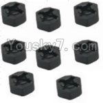 HaiBoXing 12882P Parts-11 12010 Hexagon Wheel Seat(8pcs)