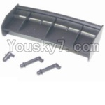 HaiBoXing 12882P Parts-14 12013 Tail wing & Column for the Car canopy