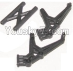 HaiBoXing 12882P Parts-18-01 12050 Tail wing bracket