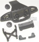HaiBoXing 12882P Parts-18-04 12053 Front or Rear Anti-collision frame