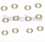 HaiBoXing 12882P Parts-29-01 12029 Copper Washers(16pcs)-2.5X5.5X0.5MM