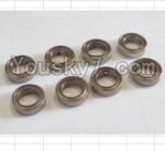 HaiBoXing 12882P Parts-29-02 79513 ball bearing(8pcs)-7.95x13x3.5mm